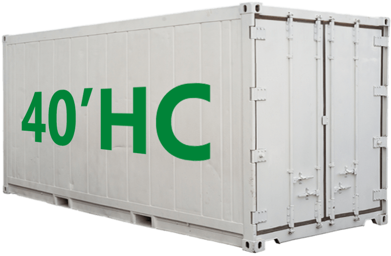 40'hc shipping container